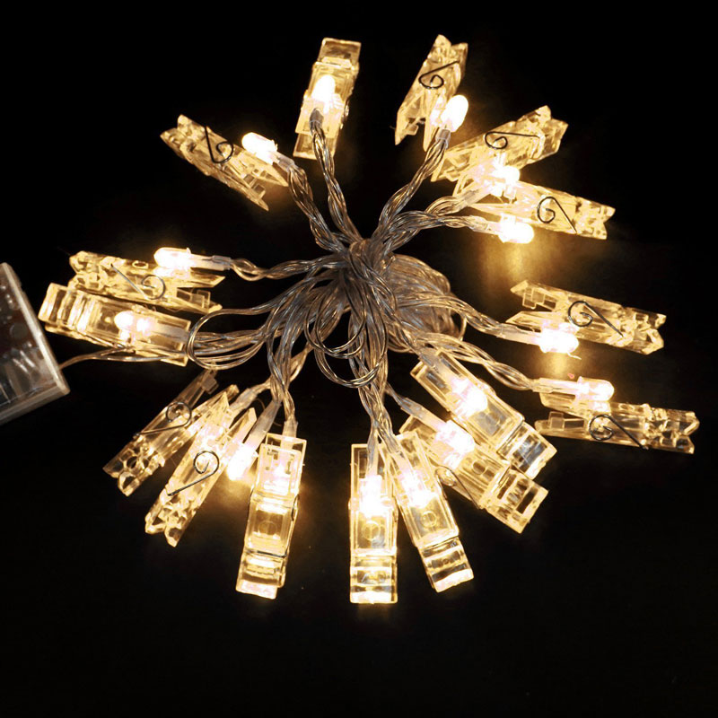 Click ... & Glamouric Photo Clip String Lights - Glamouric